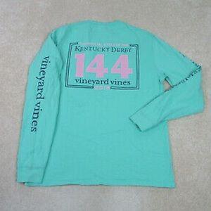 Vineyard Vines Kentucky Derby Horse Shirt